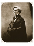 Hector Berlioz, 1863 Gicléedruk van  Nadar