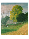 The Green Tree, Cagnes, 1924 Giclee Print by Félix Vallotton