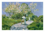 A Walk in the Park Giclee Print by Childe Hassam