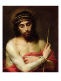 Christ the Man of Sorrows Giclée-vedos tekijänä Bartolome Esteban Murillo