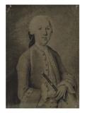 Johann Joachim Quantz Giclée-tryk af  German School