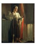 The Little Servant Gicléedruk van John George Brown