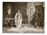 Earl Leofric and Lady Godiva Giclee Print by Edmund Blair Leighton