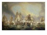 Battle of Trafalgar, 1805 Giclee Print by William Clarkson Stanfield