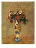 Vase of Flowers, 1912 Giclée-tryk af Odilon Redon