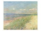 Les Dunes Du Zwin, Knokke, 1887 Gicléetryck av Théo van Rysselberghe