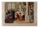 Luther at the Diet of Worms Giclee Print by  German School