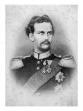 Ludwig Ii of Bavaria Giclée-tryk af  German School