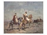 The Falcon Hunt Giclee Print by Henri Emilien Rousseau