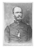 Portrait of Lewis A. Armistead Gicléedruk van  American School