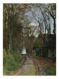 Path in Normandy Impressão giclée por Claude Monet