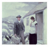 A Son of His Father Giclee Print by Newell Convers Wyeth