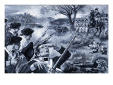 American War of Independence Giclee Print by Paul Rainer