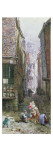 The Street Urchins Giclee Print by Louise J. Rayner