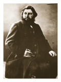 Gustave Courbet, C.1861 Giclee Print by  Nadar