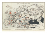 Today's Europe', 1887 Giclee Print by  German School