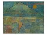 Ad Parnassum, 1932 Giclee-trykk av Paul Klee