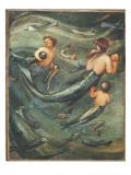 Mermaids in the Deep, 1882 Reproduction procédé giclée par Edward Burne-Jones