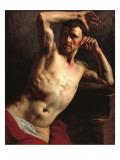 Male Nude Half-Length Giclee Print by Théodore Géricault