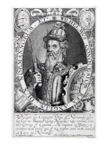 William the Conqueror, 1618 Giclee Print by Renold Elstrack
