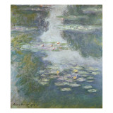Waterlilies, Nympheas, 1908 Giclée-Druck von Claude Monet