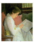 The Lace Maker, 1915 Giclee Print by Julian Alden Weir