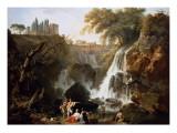 The Cascade at Tivoli Giclée-Druck von Claude Joseph Vernet