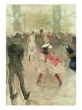 At the Elysee, Montmartre, 1888 Lámina giclée por Henri de Toulouse-Lautrec