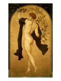 The Dance of the Cymbalists Gicléetryck av Frederick Leighton