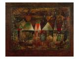 Nocturnal Festivities, 1921 Giclee-trykk av Paul Klee