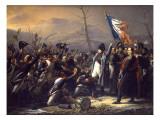 Napoleon Returning from Elba Giclee-trykk av Vasily Ivanovich Sternberg