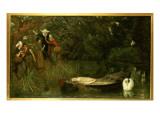 The Lady of Shalott, 1873 Giclee Print by Arthur Hughes