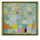 Friendly Game, 1933 Giclee-trykk av Paul Klee