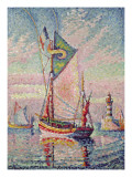 The Port at Concarneau Giclee Print by Paul Signac