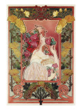 The Scent of a Rose, C.1890 Giclee Print by Privat Livemont