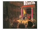 Elizabethan Theatre Giclee Print by Ken Petts