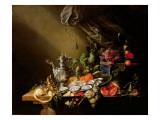 A Banquet Still Life Giclee Print by Cornelis de Heem