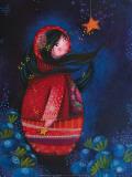 Une Nuit Étoilée Plakater af Marie-pierre Emorine