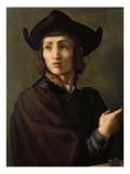 Portrait of a Goldsmith Giclée-tryk af Jacopo da Carucci Pontormo