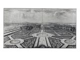 The Tuileries Garden Reproduction procédé giclée par Israel, The Younger Silvestre
