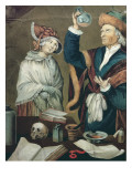 The Urine Examination Giclee Print by  German School