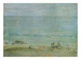 By the Shore, St. Ives Reproduction procédé giclée par James Abbott McNeill Whistler