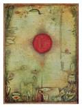 Ad Marginem, 1930 Giclee-trykk av Paul Klee