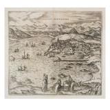 View of Santander, 1576 Giclee Print by Joris Hoefnagel