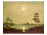 Moonrise Gicléedruk van Albert Pinkham Ryder