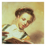 A Girl Singing Giclee Print by Frans Hals
