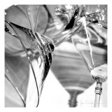 Martini Glasses I Premium Giclee Print by Jean-François Dupuis