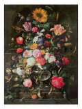 Stilleben Giclée-tryk af Cornelis de Heem