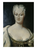Countess Cosel Giclée-tryk af  German School