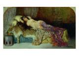 Sleeping Beauty Giclee Print by William A. Breakspeare
